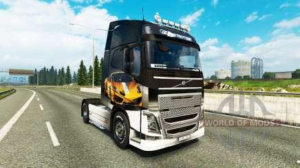 Peaux Lamborghini Gallardo à la Volvo trucks pour Euro Truck Simulator 2