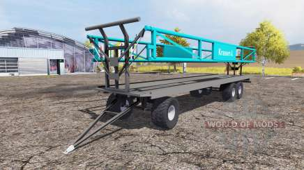 Krassort bale trailer pour Farming Simulator 2013