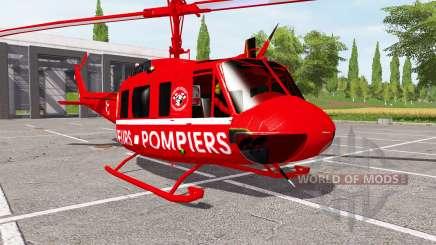 Bell UH-1D sapeurs-pompiers pour Farming Simulator 2017