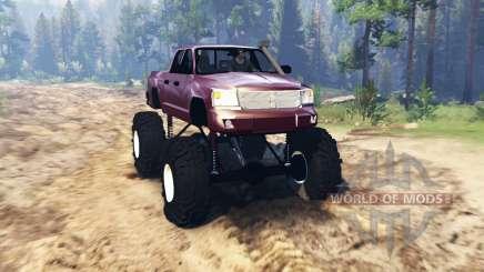 Dodge Dakota TTC für Spin Tires