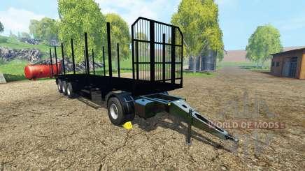 Fliegl universal semitrailer v1.5.4 pour Farming Simulator 2015