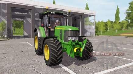 John Deere 6330 v1.1 für Farming Simulator 2017