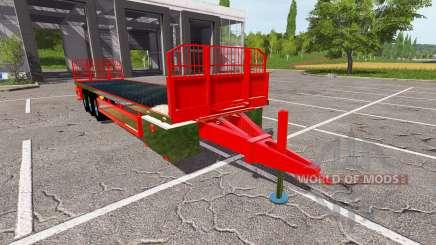 Trailer platform für Farming Simulator 2017