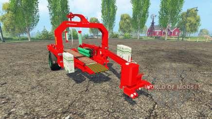 Kverneland 998 pour Farming Simulator 2015