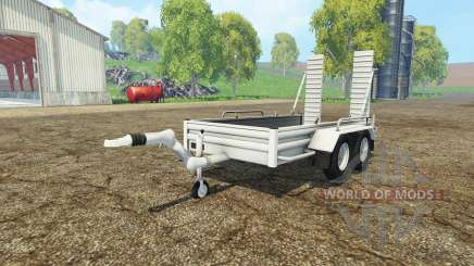 Car trailer YSM für Farming Simulator 2015