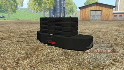 Weight CLAAS pour Farming Simulator 2015