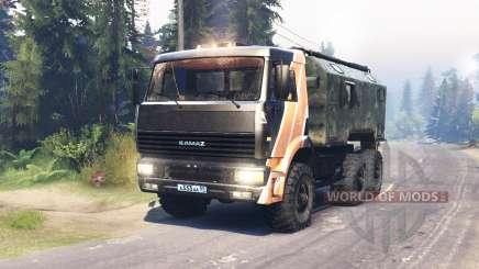 KamAZ 6522 für Spin Tires