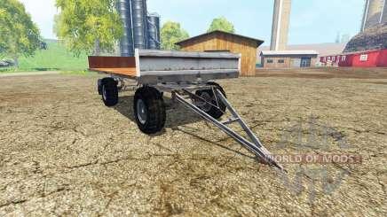 Fortschritt HW 80 bale trailer pour Farming Simulator 2015