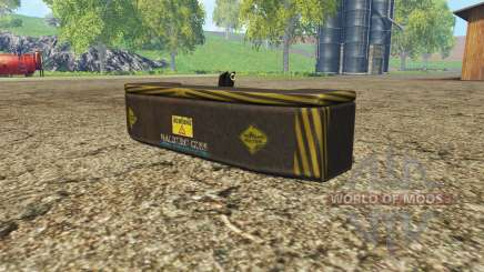 Weight Halberg Guss v1.1 pour Farming Simulator 2015