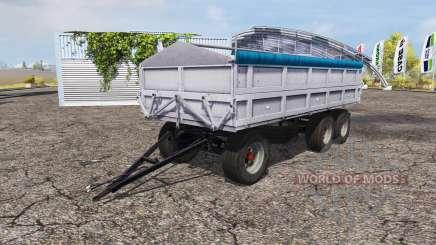 Fortschritt tipper trailer v1.1 pour Farming Simulator 2013