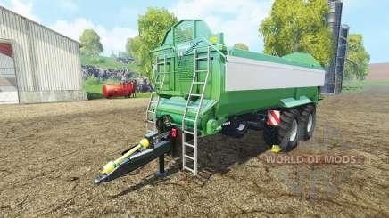 Krampe Bandit 750 green pour Farming Simulator 2015