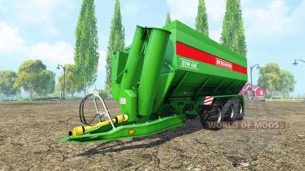 BERGMANN GTW 430 v4.2 für Farming Simulator 2015