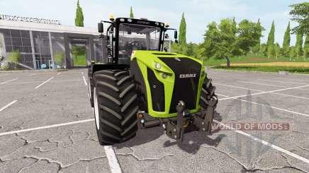 CLAAS Xerion 4000 v4.1 pour Farming Simulator 2017