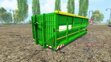 Uberlade Container pour Farming Simulator 2015