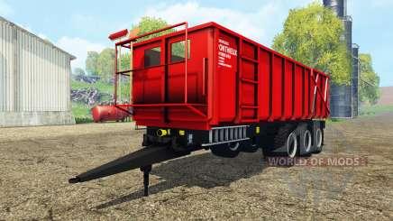 Ponthieux P24A red pour Farming Simulator 2015