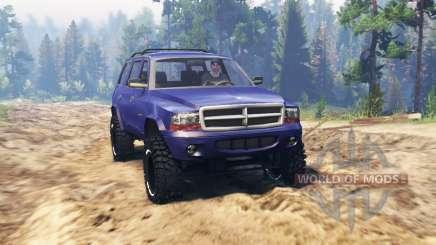 Dodge Durango 1998 pour Spin Tires