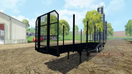 Fliegl universal semitrailer v1.5.3 pour Farming Simulator 2015