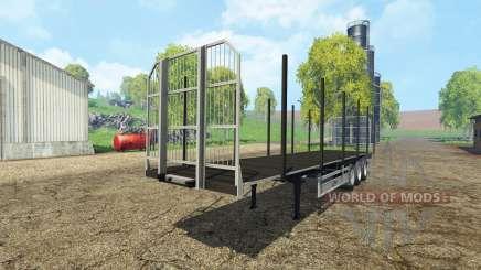 Fliegl universal semitrailer autoload v1.4 pour Farming Simulator 2015