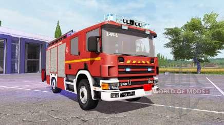 Scania 94D 260 Feuerwehr v1.1 für Farming Simulator 2017