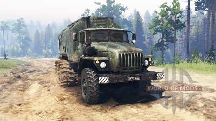Ural 4320 Sumpf für Spin Tires