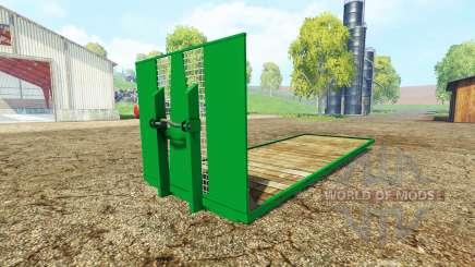 ITRunner plateau pour Farming Simulator 2015