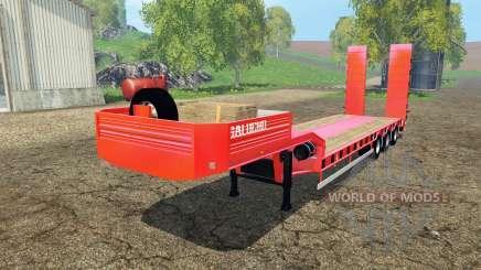 Semitrailer Galucho für Farming Simulator 2015