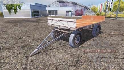 Fortschritt HW 80.11 bale trailer pour Farming Simulator 2013