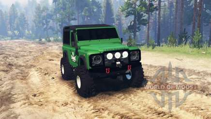 Land Rover Defender pour Spin Tires