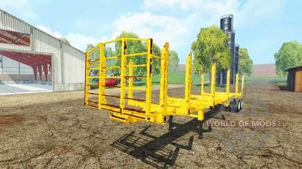 American logger trailer pour Farming Simulator 2015