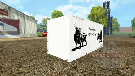 Container close für Farming Simulator 2015