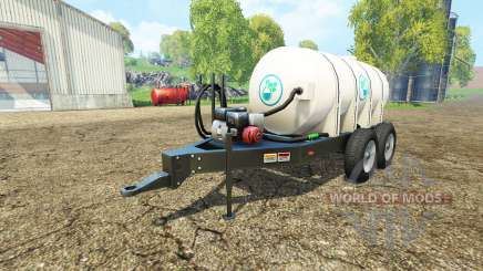 Lizard Fertilizer Trailer pour Farming Simulator 2015