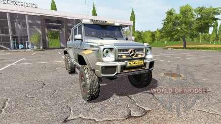 Mercedes-Benz G65 AMG 6x6 v1.2 pour Farming Simulator 2017