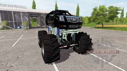 Cadillac Escalade lifted für Farming Simulator 2017