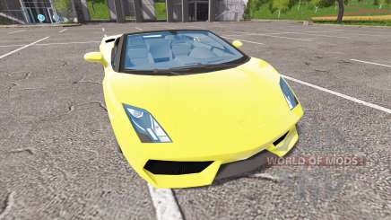 Lamborghini Gallardo Spyder v2.0 pour Farming Simulator 2017