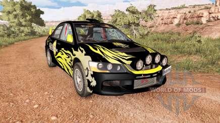 Mitsubishi Lancer Evolution IX 2006 v2.1 pour BeamNG Drive