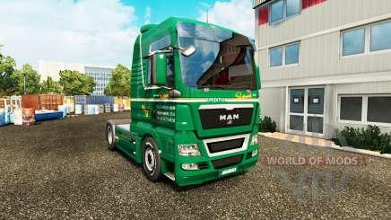 Haut Spedition Bartkowiak auf Traktor MAN für Euro Truck Simulator 2