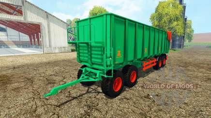 Aguas-Tenias tipper trailer für Farming Simulator 2015