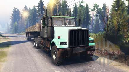 Western Star 4900 v2.0 pour Spin Tires