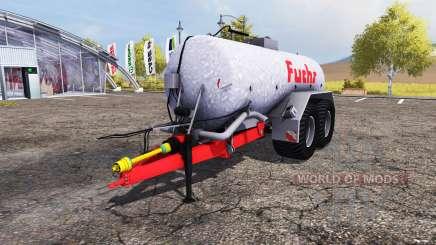 Fuchs liquid manure tank für Farming Simulator 2013