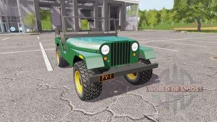 Jeep CJ-5 1972 für Farming Simulator 2017