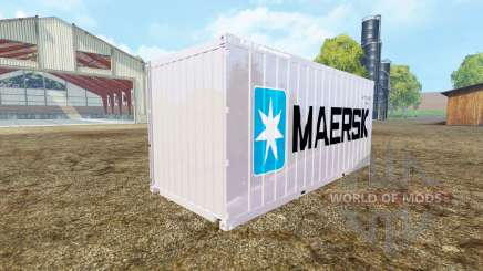 Container 20ft Maersk für Farming Simulator 2015