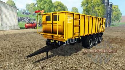 Ponthieux P24A yellow pour Farming Simulator 2015