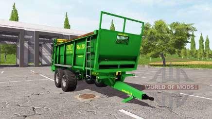 ZDT RM 20 pour Farming Simulator 2017