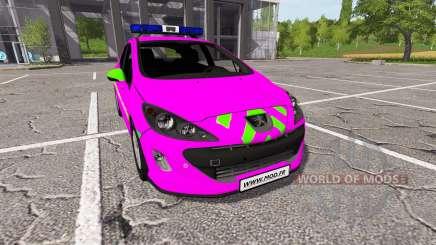 Peugeot 308 (T7) Police v1.3 für Farming Simulator 2017