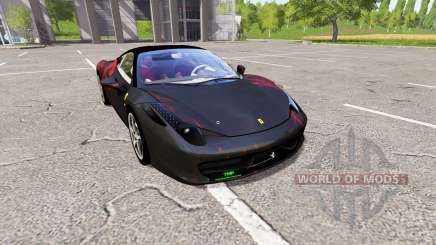 Ferrari 458 Italia bloodskin für Farming Simulator 2017