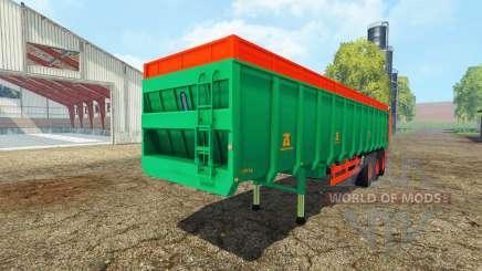 Aguas-Tenias manure spreader pour Farming Simulator 2015