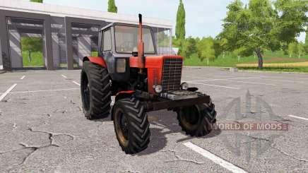 Le biélorusse MTZ 82 v3.0 pour Farming Simulator 2017