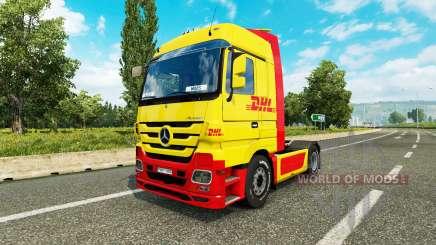 Haut DHL für Traktor Mercedes-Benz für Euro Truck Simulator 2