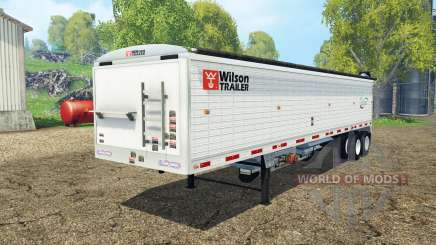 Wilson tender trailer pour Farming Simulator 2015