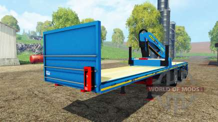 Royen semitrailer für Farming Simulator 2015